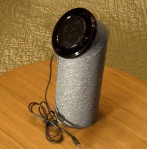 Finished Pringles Can Speaker Mod